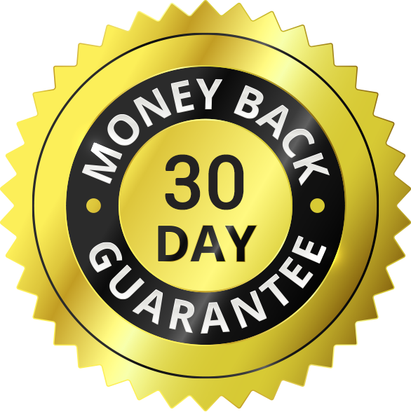 30 day MONEY-BACK-GUARANTEE